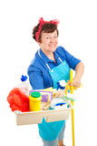 Happy Housekeeper Stock Photos