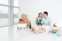 Happy housewarming! Stock Photography