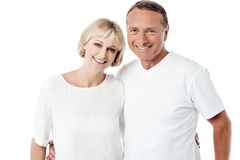 Happy husband and wife together Royalty Free Stock Image