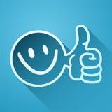 Happy icon Royalty Free Stock Photo