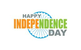 Happy Idependence Day  India grating card Royalty Free Stock Images