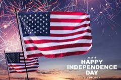 Happy Independence Day Royalty Free Stock Image