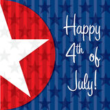 Happy Independence Day! Royalty Free Stock Photography