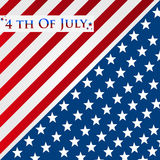 Happy Independence Day 4th of July. Stock Image