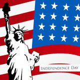 Happy Independence Day 4th of July. Royalty Free Stock Image