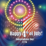 Happy Independence Day 4th of July Stock Photos
