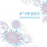 Happy Independence Day of America Royalty Free Stock Photos