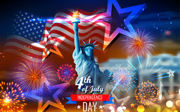 Happy Independence Day of America Royalty Free Stock Images