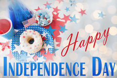 Happy independence day Stock Image