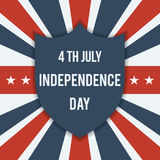 Happy Independence Day. Royalty Free Stock Photo