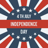 Happy Independence Day. Royalty Free Stock Image