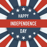 Happy Independence Day. Royalty Free Stock Photography