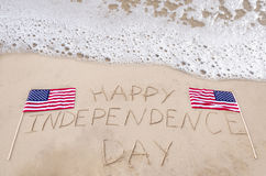 Happy Independence day background Stock Photography