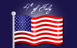 Happy Independence Day background, 4th of July Royalty Free Stock Photography