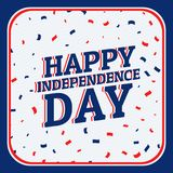 Happy independence day background. Vector Stock Images