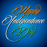 Happy independence day background. Vector Royalty Free Stock Images