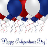 Happy Independence Day! Stock Images