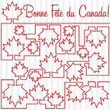 Happy Independence Day!. Happy Canada Day card in  format Stock Image
