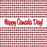 Happy Independence Day!. Happy Canada Day card in vector format Royalty Free Stock Photo