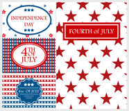 Happy Independence Day card background america holiday vector illustration. Happy Independence Day flag cadr of USA with text background america holiday vector vector illustration