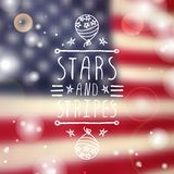 Happy Independence Day Card Royalty Free Stock Photos