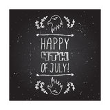 Happy Independence Day Card Royalty Free Stock Images