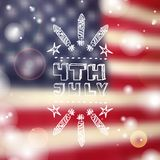 Happy Independence Day Card Stock Images