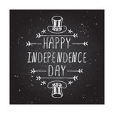 Happy Independence Day Card Stock Photos