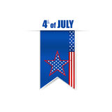 Happy independence day card, 4th of July, Vector abstract backgr Royalty Free Stock Photos