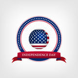 Happy independence day card United States of America Stock Images