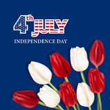 Happy independence day card United States of America Royalty Free Stock Image
