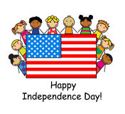 Happy Independence Day! Royalty Free Stock Image