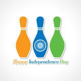 Happy independence day celebration background Royalty Free Stock Photos