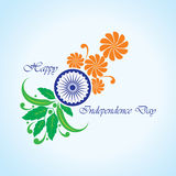 Happy independence day celebration background Stock Photography