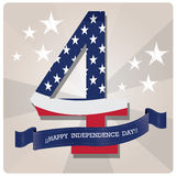 Happy independence day Stock Photo