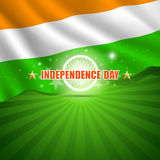 Happy Independence Day India Stock Photography