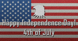 Happy Independence Day July 4th Fourth of July. Happy Independence Day July 4th Royalty Free Stock Image