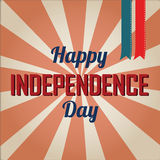 Happy independence day. Text on special background royalty free illustration