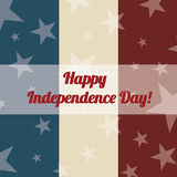 Happy independence day Royalty Free Stock Photos