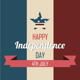 Happy independence Royalty Free Stock Images