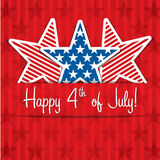 Happy Independence Day! Stock Photography
