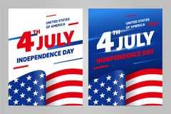 Happy independence day. 4 th july. USA. Happy independence day 4 th july, United states of america day. USA Vector Illustration