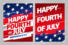 Happy independence day. 4 th july. USA. Happy independence day 4 th july, United states of america day. USA Royalty Free Illustration