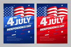 Happy independence day. 4 th july. USA. Happy independence day 4 th july, United states of america day. USA Stock Illustration