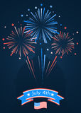 Happy independence day United States of America Royalty Free Stock Photos