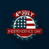 Happy independence day United States of America, 4th of July Stock Image