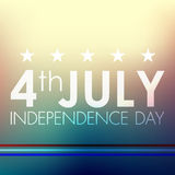 Happy independence day United States of America, 4th of July Royalty Free Stock Photo