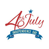 Happy independence day United States of America, 4th of July Stock Photography