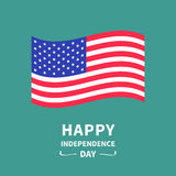 Happy independence day United states of America. 4th of July. Stock Image