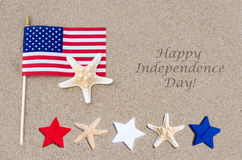 Happy Independence Day USA background Royalty Free Stock Photography